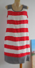 Stripes Linen Hand-wash Only Regular Size Dresses for Women