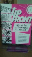 More details for up front album for trombone bass clef book 2  - pub brass wind