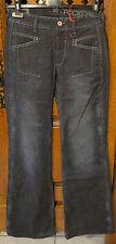 jeans donna blu grezzo MARITHÉ FRANCOIS GIRBAUD modello pockextel TAGLIA W25 36