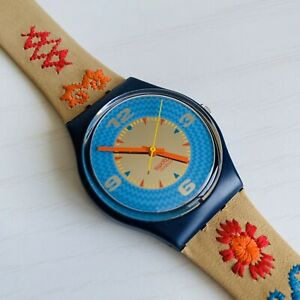 Watch Swatch Cancun 1993 GN126 NEW IN BOX