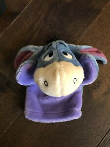 Disney Fisher Price Eeyore (Winnie the Pooh and Friends) Plush Hand Puppet