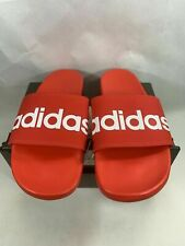 Adidas Adilette Comfort Mens Size Red Slides F34725 Sandals