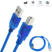 Camera Scanner Wire Type A Male To B Male USB 2.0 Printer Cable Sync Data Cord