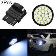 2Pcs Xenon White 3157 3057 22-SMD 1206 Car LED Bulb Brake Tail Stop Rear Light