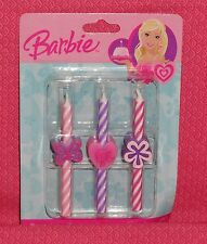 Barbie Icon Candles, 6 pcs.Birthday Cake Decoration,Pink, DecoPac. 5937