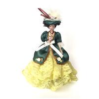 1/12 Dollhouse Miniature Victorian Dolls Elegant Lady/Girl Green Skirt PP007B