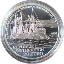 288 - 20 EUROS AUTRICHE 2004 - SMS Erzherzog Ferdinand Max