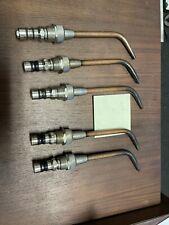 Smiths Welding Brazing Torch Tips 201c Sw202 Sw203 Sw204 Sw205 Lot2