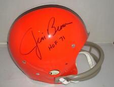 Jim Brown signed Cleveland Browns Helmet - Pro Football Legend - Tristar w/photo