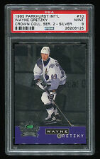 1995 Parkhurst Intl Crown Ser 2 Silver Wayne Gretzky #10 PSA 9