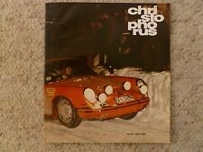 Porsche Christophorus Magazine English #52 July 1964 RARE! Awesome L@@K