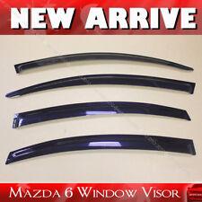 Mazda 6 Mazda Seden 2009-2013 Window Visor Vent Sun Shade Rain Guard 4pcs