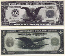 Billion Dollar Novelty Money Bill #287