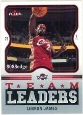 2006-07 FLEER NBA BASKETBALL TEAM LEADER - LeBRON JAMES
