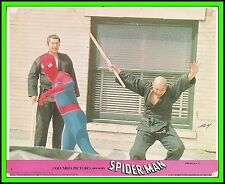 "NICHOLAS HAMMOND in ""The Amazing Spider-Man"" Original COLOR LOBBY CARD 1977"