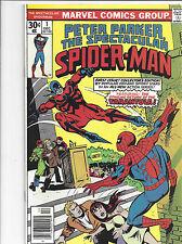 Peter Parker, The Spectacular Spiderman #1 Dec 1976