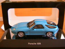 PORSCHE 928 BLUE 1978 AUTOART 57811 1/43 BLEU BLAU WAGEN GERMANY MODEL CAR IPOD