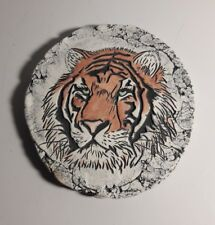 SHAPES of CLAY by STAN Made with Mt. St. Helens Ash..Handmade Siberian Tiger