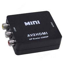 Eingang Rca Av zu HDMI Leistung Umwandler Adapter Verbund AV2HDMI Kabel Leitung