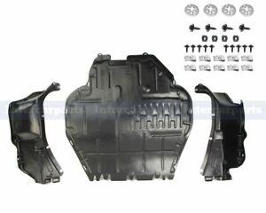 3 PCS Set Under Engine Cover Undertray Fitting Kit for VW Golf MK4 Audi A3 Skoda
