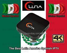 2018 Newest LUNA TV BOX SPANISH Español 4K SAME AS HTV5 A2 LIVE TV