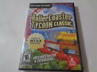 ROLLERCOASTER TYCOON CLASSIC [PC/MAC CD-Rom] Atari (New) zd