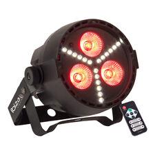 IBIZA LUCE 4-in - 1 RGBW LED PAR possibile con SMD LED Strobo DJ Discoteca Effetto