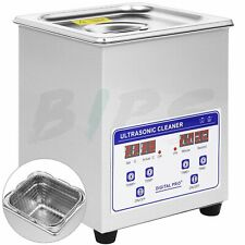 Professional Ultrasonic Jewelry Cleaner with Digital Timer for Eyeglasses Rings