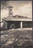 YZ0336 Fossano 1939 - Cascinale deposito Alpini - Fotografia d'epoca