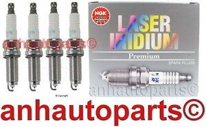 Set of 4 NGK ILZKR7B11S oem Recommended Laser Iridium Spark Plugs Acura Honda