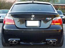 BMW E60 5 Series ABS Euro Rear Trunk Boot Spoiler Lip Wing Sport Trim Lid M M5
