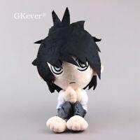 Anime Death Note L Plush Figure 12'' Soft Stuffed Animal Doll Toy Cute Gift