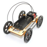 DIY Mini Car Model Kit Battery Powered Children Kids Educational Toy G_WK