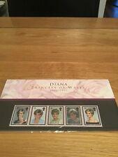 Royal Mail Diana Princess Of Wales 1961 - 1997