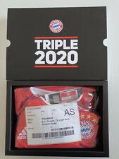 ADIDAS TRIPLE 2020 SHIRT BAYERN MUNICH MONACO GNABRY L + BADGES + BOX