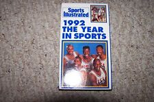 SPORTS ILLUSTRATED  1992 THE YEAR IN SPORTS VHS