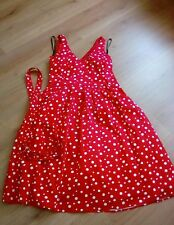 Papaya occasions wear red spotted dress