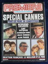 PREMIÈRE CINÉMA + Fiches - SPÉCIAL CANNES - N°98 / 1985