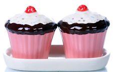 cute salt and pepper pots shakers sets cruet set ceramic tableware cupcake