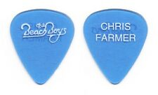 Beach Boys Chris Farmer Clear Blue Guitar Pick - 1990s Tours