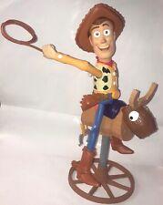 Disney Toy Story Bull Ridin' Woody Figure Talking Toy