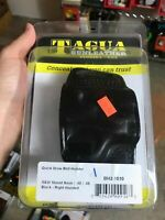 TAGUA BH2-1010 1836 Edition Leather Holster S&W Shield - BLACK R/H