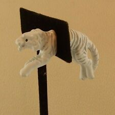 EARlusion 3D Hand painted White Jewelry Tiger single earring