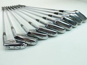 Ben Hogan Irons Apex 3 Shafts  2 3 4 5 6 7 8 9 Equalizer RH Golf Clubs Set Lot