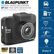 New BLAUPUNKT BP3.0 FHD 1080P Dash Cam Car GPS Camera DVR Digital Video Recorder