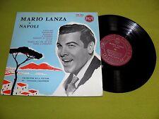 "Mario Lanza - A Napoli - RARE 1965 France ""RCA 330.214"" Red Labels 10"" LP"