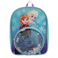 Disney Frozen Snowflake Pocket School Bag Rucksack Backpack Brand New Gift