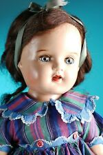 Early 1940's  composition Arranbee Nannette doll 21""
