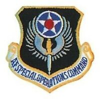AIR FORCE SPECIAL OPERATIONS OP AUTHENTIC HOOK LOOP PATCH