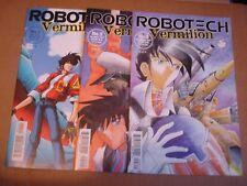 Antarctic Press Comics 1997 Robotech Vermilion #1 - #3 lot VF/NM